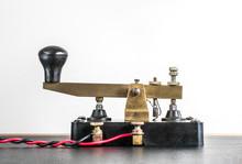 Vintage Morse Code Key