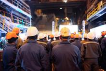 Strike Of Workers In Heavy Industry.