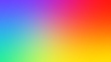 Abstract Blurred Gradient Background In Bright Colors