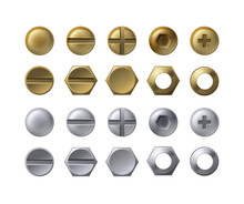 Steel And Brass Heads