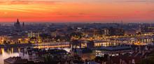 Budapest Panorama: Morning Blu...