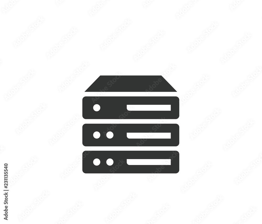 Fototapeta Data Server Icon
