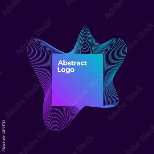 Photo  Abstract Vector Blend Logo Template