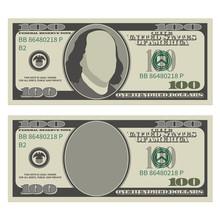 One Hundred Dollar Bill Design...