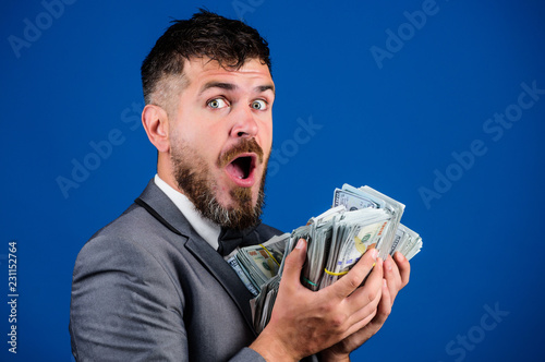 Valokuva Cash transaction business
