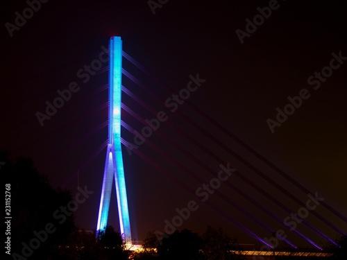 Poster Bridges Rheinbridge by Wesel