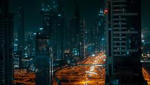 Night Panorama Of A Large Mode...