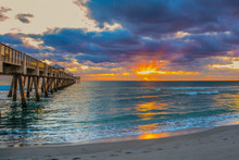 Sunrise At The Juno Beach, Flo...