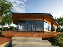 3d Render Of Building Exterior