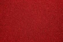 The Texture Of The Red Carpet Dense.