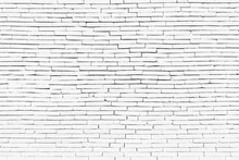White Brick Wall As A Background Or Texture