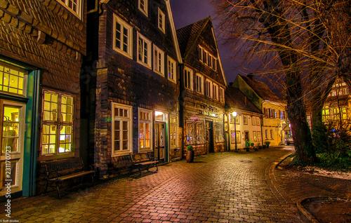 Altstadt Gütersloh bei Nacht