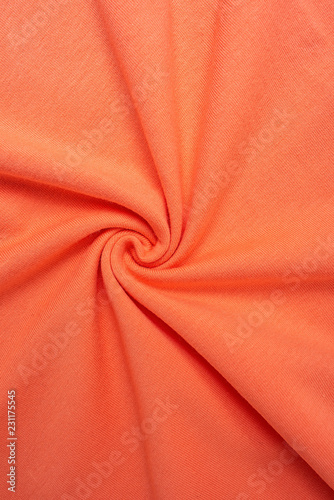 Fotobehang Stof Spiral fabric / cotton knit fabric background material