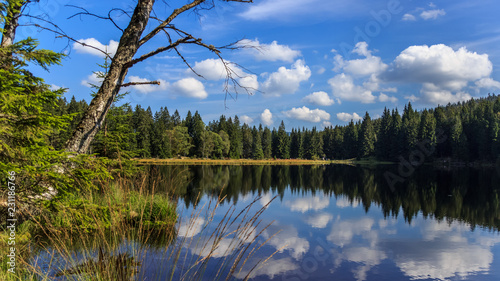 Photo Beautiful view near the Arber-Bavaria-Germany