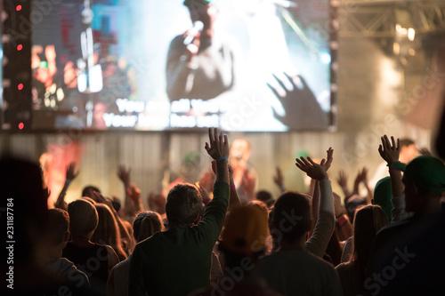 Tablou Canvas Teen Worship