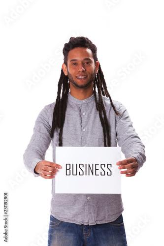 Fotografie, Obraz  Rastafari young man