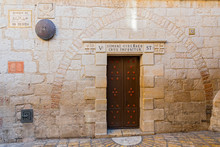Station 5 Of The Via Dolorosa,...