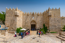 Damascus Gate In The Old City,...