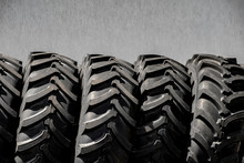 Tractor Tires Wheels Closeup P...