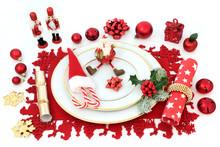 Christmas Dinner Fun Table Set...