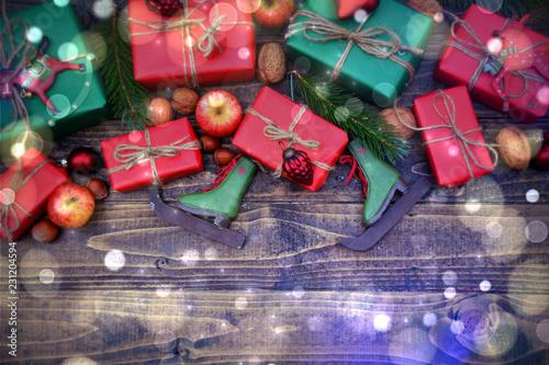 Nostalgische Weihnachtskarten Kaufen.Weihnachtskarte Geschenke Nostalgisch Kaufen Sie Dieses Foto Und