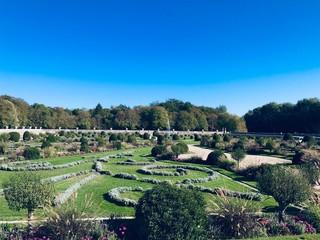 Fototapeta na wymiar Parcs et jardins de France