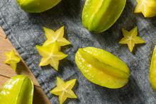 Healthy Raw Yellow Starfruit