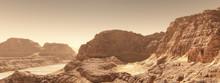 Alien World Landscape Renders