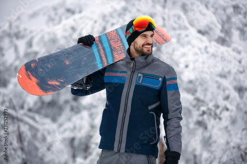 Snowboarder - Winter sport lifestyle concept
