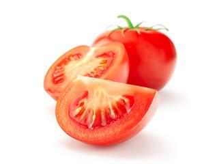Fototapeta Tomato isolated on white background