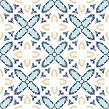 Winter Fir Star Quilt Tile Sea...