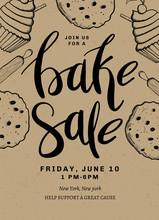 Bake Sale Card Design