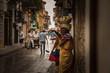 Leinwanddruck Bild - Women of Cartagena