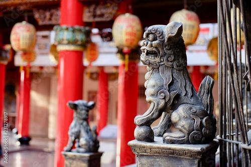 Fotografía  Luermen Matsu Temple, Annan District, Tainan Taiwan December 2016
