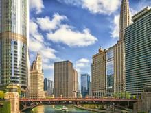 The Chicago River At Wabash Av...