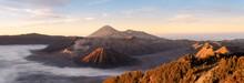The Sunrise Of The Bromo Volcano