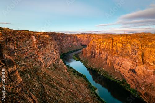 Poster Afrique du Sud Glen Canyon Dam Scenic Area at Dawn