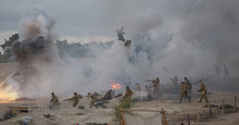 Military-historical Festival In Crimea.