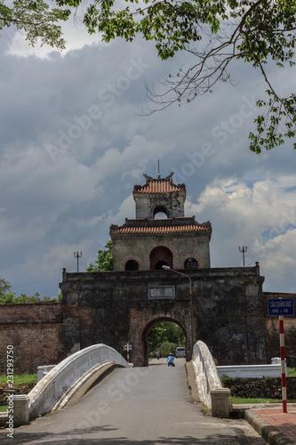 Fotografía  views on the royal palace in hue vietnam
