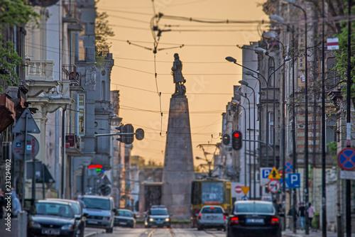 Łódź, Polska- widok na Plac Wolności. © Tomasz Warszewski