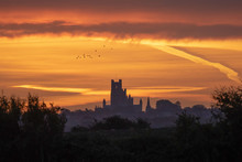 Dawn Over Ely, 3rd October 2018