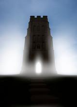 St. Michael's Tower On Glastonbury Tor