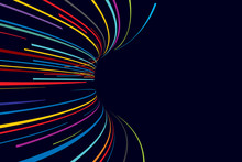 Abstract Line Vector Background