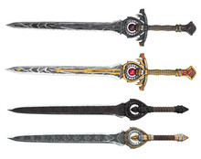 Fantasy Longsword With Large G...