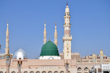 The Prophet's Mosque Is A Mosque Established And Originally Built By The Islamic Prophet Muhammad, Situated In The City Of Medina In The Hejazi Region Of Saudi