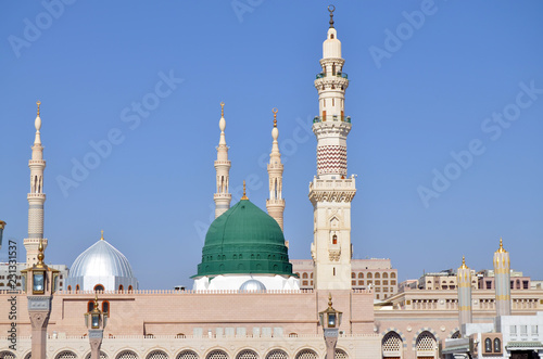 Fotografia, Obraz The Prophet's Mosque is a mosque established and originally built by the Islamic