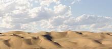 Dramatic Open Sand Dunes