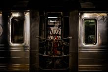 ニューヨークの地下鉄...