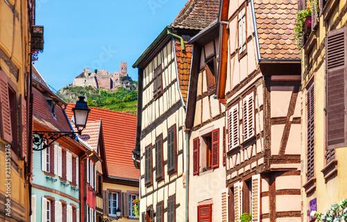 Keuken foto achterwand Europese Plekken Ribeauville-riquewihr, frankreich