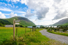 Path To The Wastwater Lake Wit...